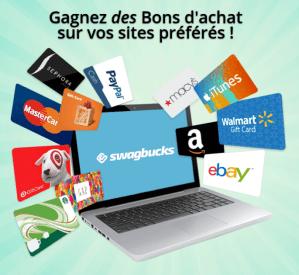 Swagbucks : un site varié qui va vous rapporter de l'argent