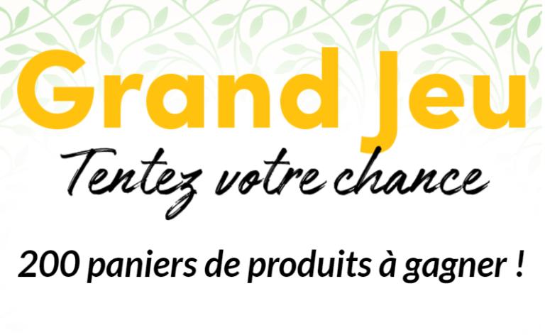 Read more about the article Concours : 200 paniers de produits à gagner