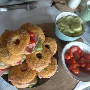 Donuts au jambon