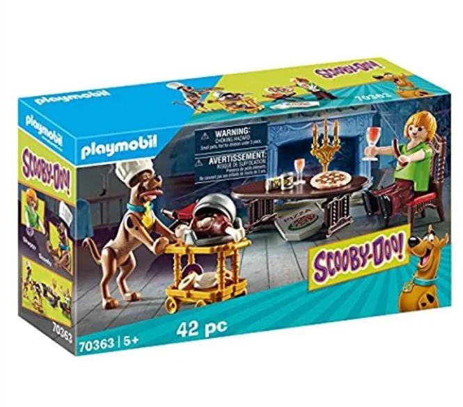 Read more about the article Bon plan sur  le Scooby-Doo, Salle de Diner avec Sammy Playmobil