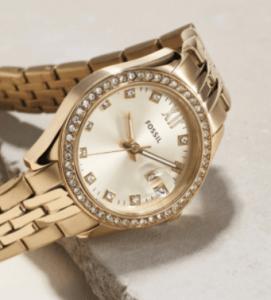 Bon plan sur les montres Fossil : -60% de réduction immédiate