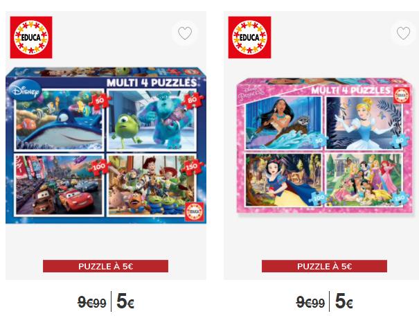 Read more about the article Bon plan chez Vertbaudet : puzzle Educa à 5€