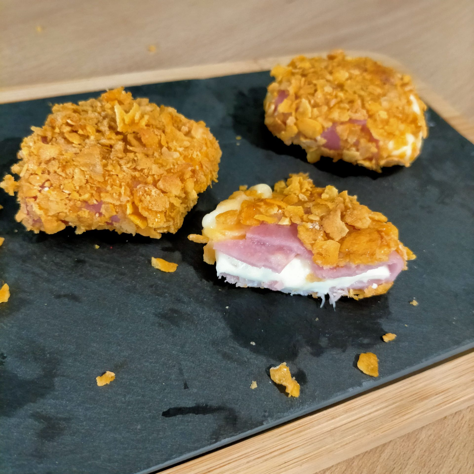 You are currently viewing Croquettes au jambon et au fromage