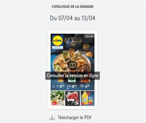 Catalogue Lidl  de la semaine du 07 au 13 avril 2021