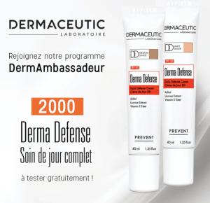 Test gratuit : Derma Defense de Dermaceutic