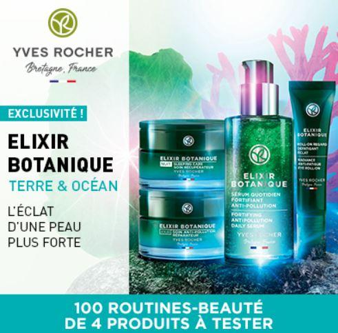 Read more about the article Test gratuit : la routine-beauté Élixir Botanique de Yves Rocher