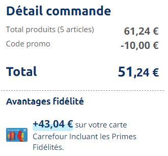 Read more about the article Méga bon plan chez Carrefour !