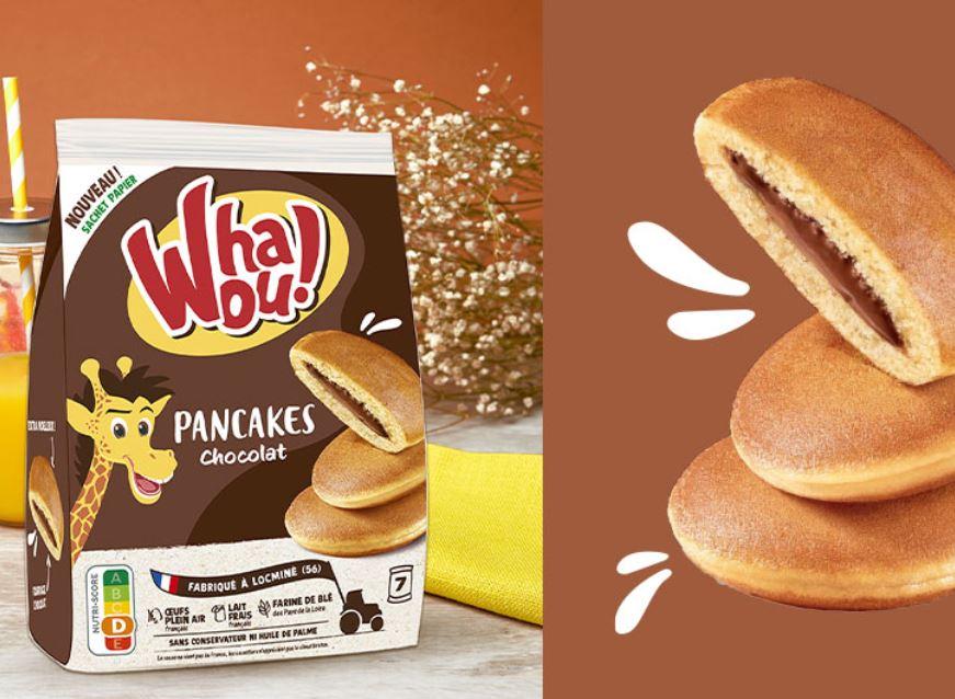 les pancakes au chocolat Whaou!