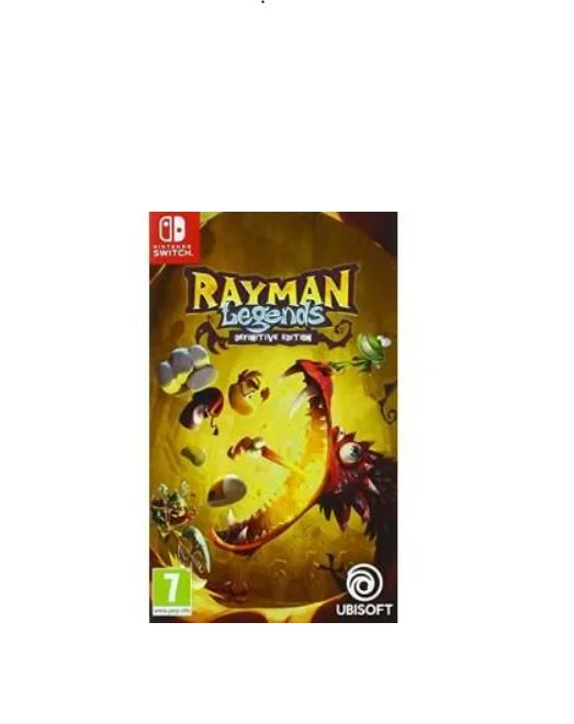 You are currently viewing Bon plan : 10.50€ le jeu rayman legends definitive edition