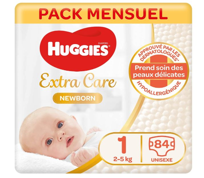 You are currently viewing Unpaquet de 84 couches Huggies gratuit.