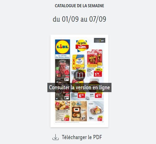 You are currently viewing Catalogue Lidl de la semaine du 01 au 07 septembre 2021