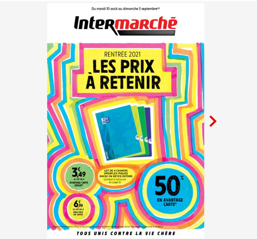 You are currently viewing Rentrée 2021 chez Intermarché
