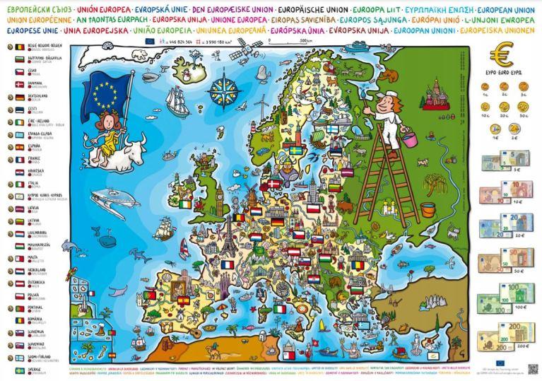 Read more about the article Carte de l'Europe gratuite