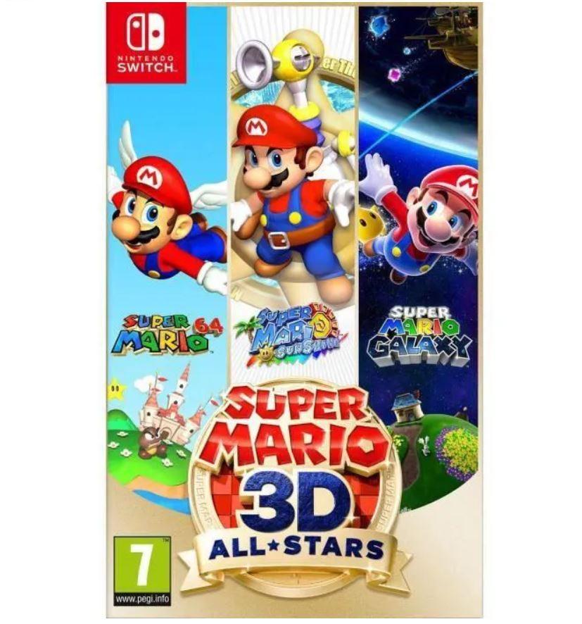 Read more about the article Bon plan sur Super Mario 3D All Stars