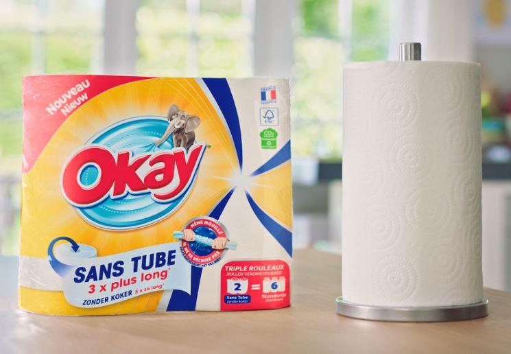 You are currently viewing Test gratuit : le nouvel essuie-tout Okay Sans Tube