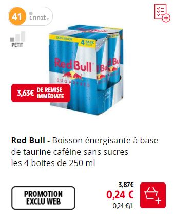 You are currently viewing Bug sur le Red Bull chez Intermarché