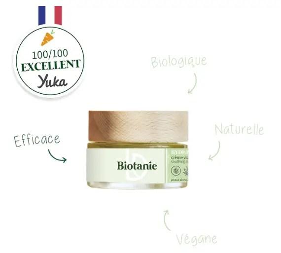 Biotanie - crème 100/100 yuka