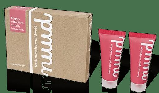 Test et avis déodorant Nuud