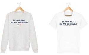 French Touch fête des pères vêtements humoristiques et 100% bio