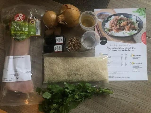 Avis box Foodette et recettes équilibrées