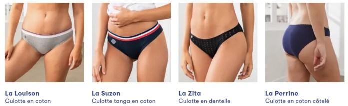 Le slip français cadeau écolo pour femme