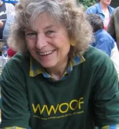 Sue Coppard, fondatrice du wwoofing
