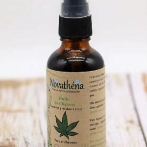 Novathéna huile de chanvre biologique