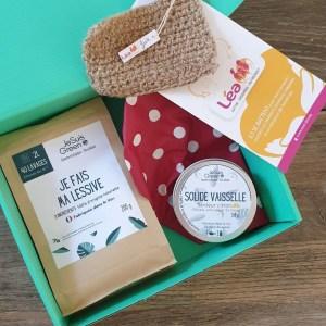 *Kit « L'écologique » – Lessive / Eponge Tawashi / Solide Vaisselle/ Charlotte alimentaire