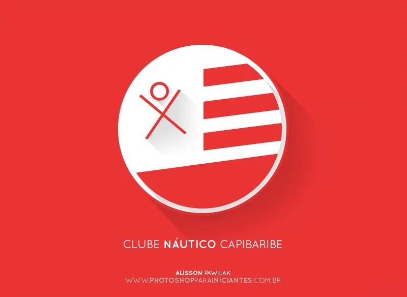 Nautico - Escudo Minimalista