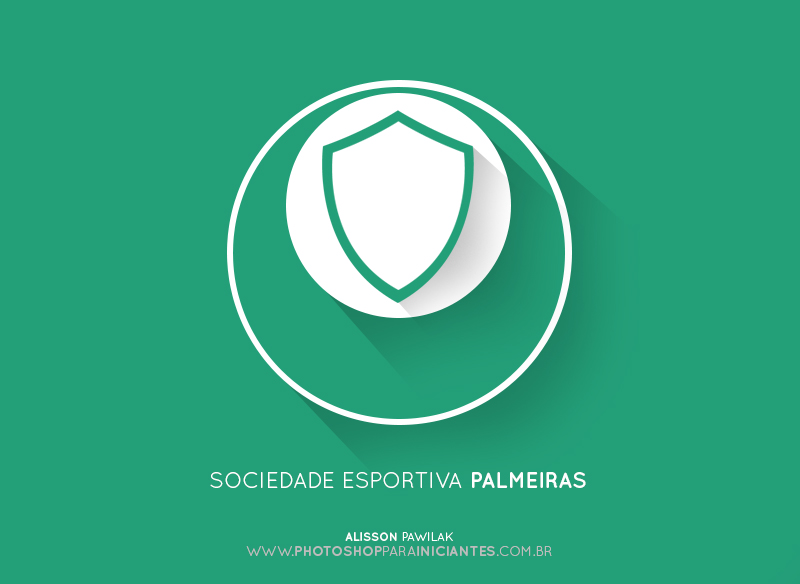 Palmeiras - Escudo Minimalista