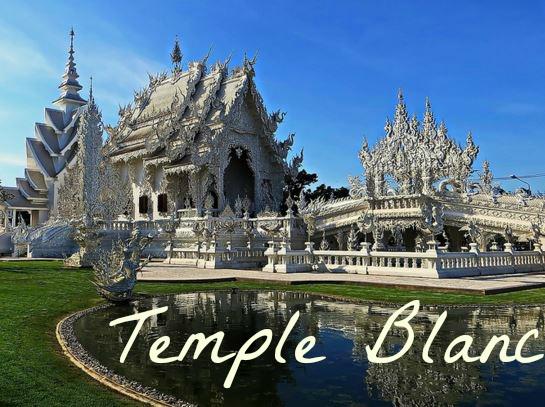 Wat Rhong Khun temple blanc