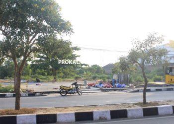 Lokasi pembangunan Bontang City Mall. (ADIEL KUNDHARA/KP)