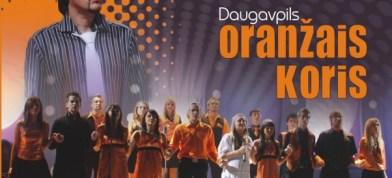 """""""Kur gaismeņa"""" – Oranžais koris, A.Auzāns"""