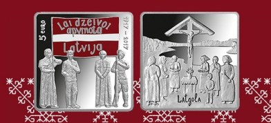 "Kolekcejis moneta ""Latgales kongress"""