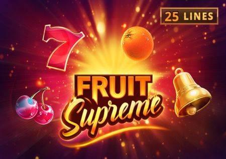 Fruit Supreme – tematika za svakog pravog igrača!