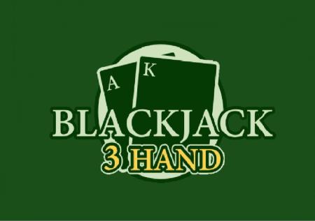 Blackjack 3 Hand – utrostručite svoje šanse za pobjedu!