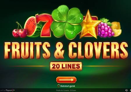 Fruits and Clovers: 20 lines – voćna avantura!