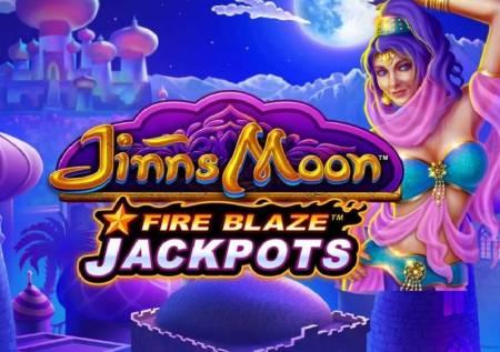 Fire Blaze Jinns Moon – kazino magija misterije