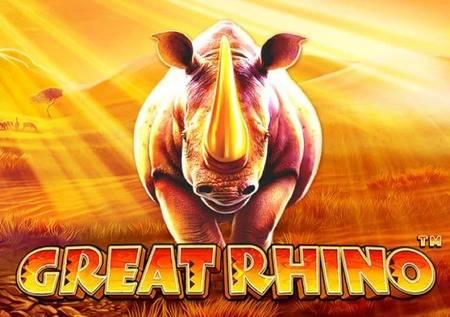 Great Rhino – čekaju vas životinje afričke savane!