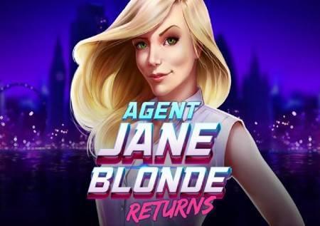 Agent Jane Blond Returns – fatalna plavuša u prvom planu u kazino igri!