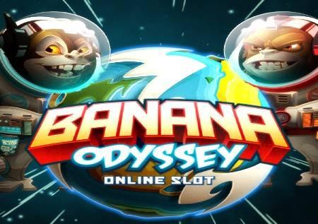 Banana Odyssey – slot sa svemirskim bonusima!