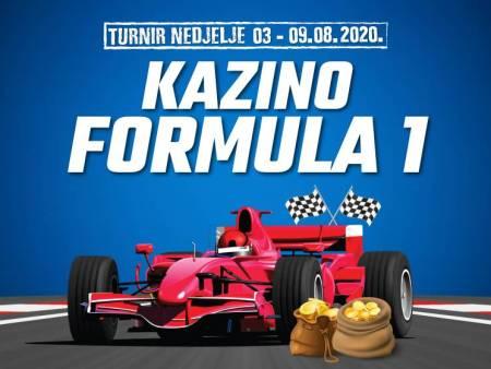 Uskočite u  Formulu 1 Meridian online kazina!