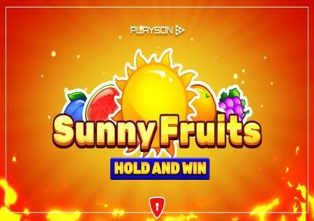 Sunny Fruits: Hold and Win – sunčevi zraci ovog puta donose tri džekpota!