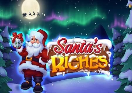 Santas Riches – novogodišnje bogatstvo u slotu!