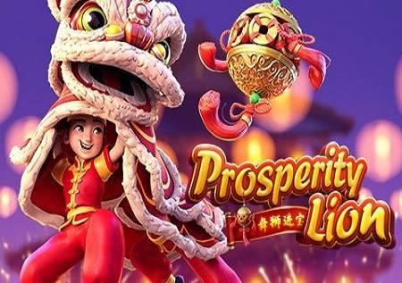 Prosperity Lion – lav koji se vrti na lopti!
