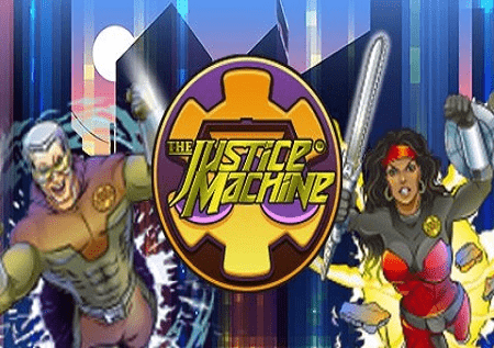 Justice machine – slot super heroja!