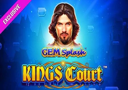 Gem Splash Kings Court – 3 pogresivna džekpota!