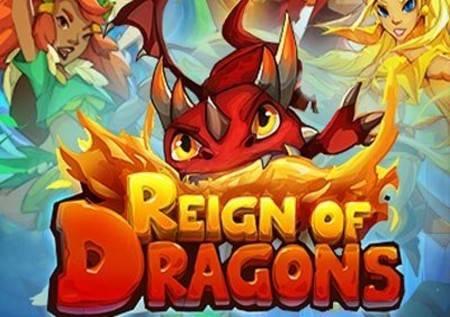 Reign of Dragons  – nevjerovatna slot igra!