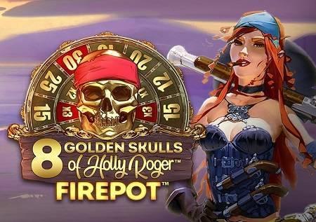 8 Golden Skulls of Holly Roger Megaways – slot igra!