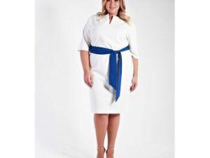Стильные платья больших размеров